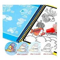 Magic Water Writing Drawing Painting Book Board Pen Toys Doodle Kids C4J1 C5B9