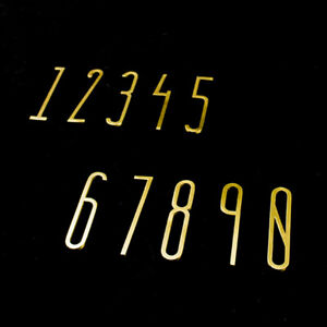 Brass Numbers for House Door Address Signs