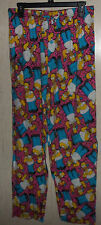NWT MENS the SIMPSONS HOMER & SPRINKLE DONUTS KNIT PAJAMA LOUNGE PANTS  SIZE XXL