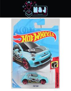 Hot Wheels Fiat 500 HW Daredevils 2/5  (Aussie Seller)