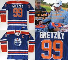 Wayne Gretzky Edmonton Oilers signed autographed Oilers hockey Jersey COA Proof