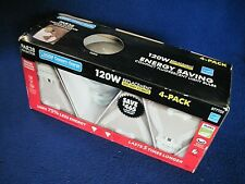 Feit Par 38 Indoor/Outdoor CFL Floodlight 120W/23W 4-Pack NEW