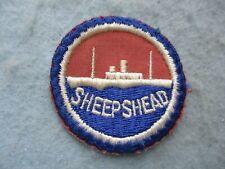 WWII US Merchant Marine Patch USMS Training Sheepshead Bay WW2
