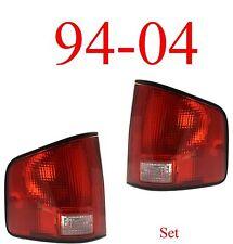 94 04 S10 Tail Light Set Assembly, Chevy, GMC, Isuzu, W/Black Trim Both Sides!