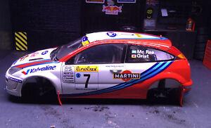 Ford Focus WRC  McRae 1999 Monte Carlo 1:18 Diecast Model Autoart Spares Read Pl
