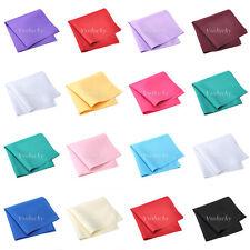 50 Linen Napkins Polyester Handkerchiefs Cloth Diner Wedding Party 30cm x 30cm