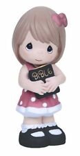 Precious Moments Girl Bible Figurine The Lord is my Strength Retired 134403