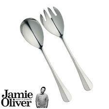 JAMIE OLIVER  Salad serving spoon and fork set of 2 vintage server