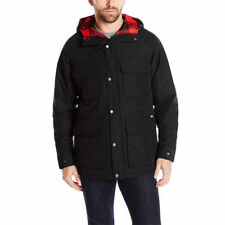 Woolrich Men's Advisory Wool Insulated Mountain Parka, Black, Large