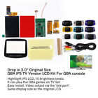 Drop in IPS LCD GBA TV OUT Mod Backlight Kit w/ Shell For Game Boy Advance GBA
