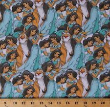 Cotton Aladdin Princess Jasmine Rajah Disney Kids Fabric Print BTY D475.50
