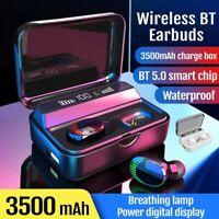 TWS Wireless Earpiece Bluetooth 5.0 Headset In-Ear Earbuds HiFi Stereo Headphone