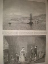 Miramare Castle Trieste Italy & Meg's Diversion New Royalty Theatre 1866 prints