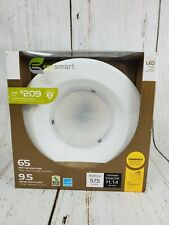 "Ecosmart Led 6"" Recessed Light 9.5w Hr 2700k 90Cri Instant On Dimmable White"