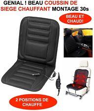 GENIAL ET BEAU!  HOUSSE DE SIEGE CHAUFFANTE 12V BATEAU CAMPING CAR 4X4 CABRIOLET