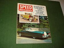 SPEED MECHANICS HOT ROD CAR MAGAZINE FEBRUARY 1960