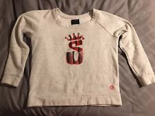 Stussy White Sweater Woman's Size Small