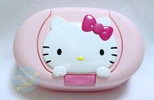 Wet Tissue Case Only Container, No Contents SANRIO HELLO KITTY KAWAII Pink JAPAN