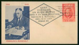 Mayfairstamps Habana 1947 FDR Stamp Collector Cover wwp4839