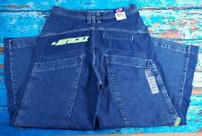 "JNCO Pitchbend Mens J318R Vintage 90's Wide Leg 30"" Baggy Jeans 36x30 (34x30)"