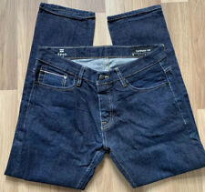 Billabong Mens Blue jeans Tapered fit Salvaged UK 33 100% Cotton