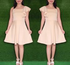 CREAM BANGKOK SPANRIB DRESS