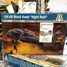 "UH-60 BLACK HAWK ""NIGHT RAID""  - KIT ITALERI 1:72 art. 1328"