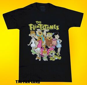 Flintstones Style-déposer l/'aiguille-Garçons T-shirt Cartoon Shirt Taille 14//16//18