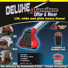 Deluxe Moving Home Furniture Lifter & Mover 48 Wheels Moves Easy 4 Sliders Kit