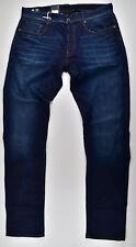 G-star Raw 3301 ajustado azul Superstretch W36 L36 pantalones vaqueros