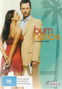 Burn Notice (DVD, 4Disc Set, 2010, R4)  NEW SEALED
