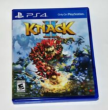 Replacement Case (NO GAME) Knack 2 PlayStation 4 PS4 Box