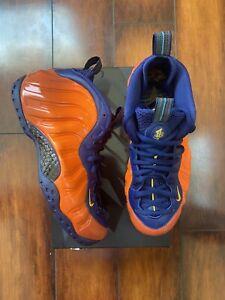 Nike Air Foamposite One Knicks Rugged Orange/Blue (CJ0303-400) Size 8.5-9