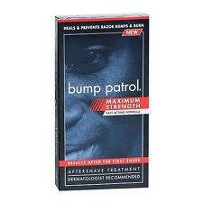 Bump Patrol Maximum Strength Aftershave Treatment Heals Prevent Razor Burn 2oz