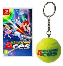 MARIO TENNIS ACES NINTENDO SWITCH VIDEOGIOCO ITALIANO + PORTACHIAVI LIMITED EDIT