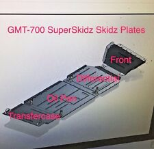 4 SuperSkidz Full Set Skid Plates 2015 to 2018 CHEVY COLORADO GMC CANYON GMT700