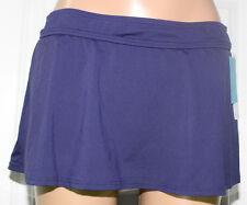 NEW Anne Cole 16MB400 Navy Rock Skirted Swimwear Bikini Bottom M Medium
