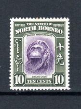 More details for north borneo 1939 10c orangutan mlh