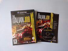 Nintendo Gamecube The Italian Job Game (Complete, TESTED) PAL, Car Racing, Eidos