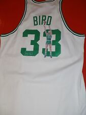 Larry Bird Signed Boston Celtics 1985/86  Jersey  Hand Painted Rare 1 of 1 AP