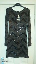 Topshop sequined dress size 10