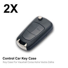 For Vauxhall Opel Corsa Astra Vectra Zafira 2Button Remote Flip Key Fob Case New