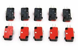 10Pcs 16A Microwave Oven Door Arcade Cherry Button Micro Switch Limit Switch
