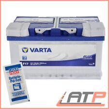 VARTA BLUE DYNAMIC 80Ah 12V AUTOBATTERIE STARTERBATTERIE BATTERIE+10g POL-FETT
