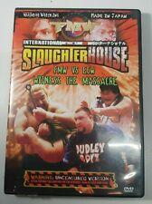 HARDCORE WRESTLING JAPAN INTERNATIONAL SLAUGHTER HOUSE FMW VS ECW DVD Rare