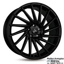 4x Alufelgen KESKIN KT17 8x18 5/112 ET45 MATT BLACK PAINTED Audi/VW *NEU*