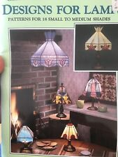Designs for Lamps Stained Glass Pattern Book