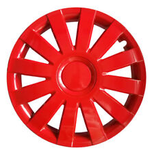 "4x15"" Wheel trims covers fit TOYOTA 15"" wheels red"