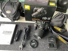 Nikon D7000 16.2 MP SLR-Digitalkamera (+18-105mm f/3.5-5.6) Zubehörpaket