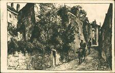 WW1 German Feldpostkarte LAON France Andryak Family Hamburg 1916 AJ.327